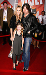 "HOLLYWOOD, CA. - November 17: Tish Cyrus, Noah Cyrus and Musician Billy Ray Cyrus arrive at the World Premiere of Walt Disney's ""Bolt"" at the El Capitan Theatre on November 17, 2008 in Hollywood California."