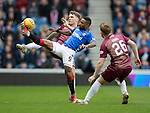 Rangers v St Johnstone&hellip;16.02.19&hellip;   Ibrox    SPFL<br />Jermaine Defoe and Jason Kerr<br />Picture by Graeme Hart. <br />Copyright Perthshire Picture Agency<br />Tel: 01738 623350  Mobile: 07990 594431