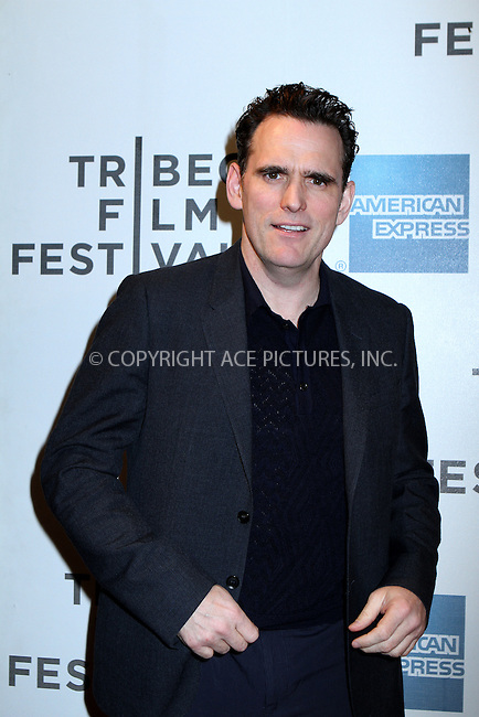 WWW.ACEPIXS.COM......April 20, 2013, New York City, NY.....Matt Dillon arriving at the screening of 'Sunlight Jr.' at the 2013 Tribeca Film Festival at BMCC Tribeca PAC on April 20, 2013 in New York City. ..........By Line: Nancy Rivera/ACE Pictures....ACE Pictures, Inc..Tel: 646 769 0430..Email: info@acepixs.com