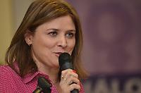 SAO PAULO, SP, 14 DE JANEIRO DE 2013.- HADDAD POLITICA PARA MULHERES - Denise Motta Dau, secretaria de Políticas para as Mulheres, durante Diálogo Inaugural da Secretaria Especial de Políticas para as Mulheres, na prefeitura de Sao Paulo, da tarde desta segunda feira, 14.  (FOTO: ALEXANDRE MOREIRA / BRAZIL PHOTO PRESS).