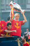 02.07.2012. Tour of Madrid of the Spanish football team to celebrate their victory in Euro 2012. In the image Sergio Ramos  (Alterphotos/Marta Gonzalez)