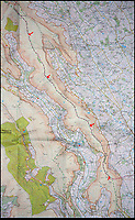 BNPS.co.uk (01202 558833)<br /> Pic: OS/BNPS<br /> <br /> The Hatterrall Ridge OS map marks the current border.<br /> <br /> Border skirmish - Amateur cartologist discovers part of Wales should actually be in England.<br /> <br /> A hillwalker has discovered that the border between England and Wales has been incorrectly marked for decades - and that England should be given more land.<br /> <br /> Myrddyn Phillips said the official border between the two countries in the Black Mountains south of Hay-on-Wye has been wrongly traced on the Ordnance Survey maps.<br /> <br /> The current border should follow the natural watershed from the summit of Twyn Llech on the nine mile long Hatterrall Ridge in the remote area.<br /> <br /> But intrepid Mr Phillips and his rambling partner Mark Trengove have remeasured the summit of the 2,308ft mountain - and found it to be 12m further west than previously thought.<br /> <br /> Although 12 metres is a seemingly small discrepancy, the area amounts to 1.8 million square feet along the entirety of the ridge.