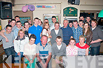 BIRTHAY BOY: Jonathan Keane, Ballymac (seated centre) celebrated his 18th birthday in Dowdies bar, Boherbue, Tralee last Saturday night with many friends and family.