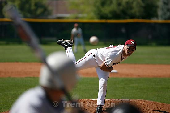 Bountiful - Viewmont pitcher Greg Whipple. Viewmont vs. Northridge high school boys baseball, at Viewmont.