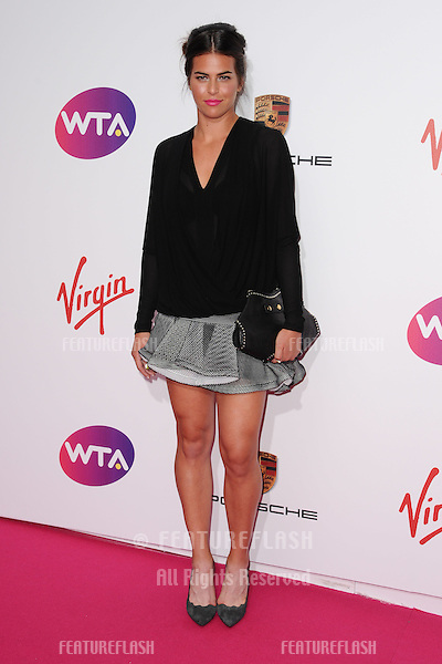 Ajla Tomljanovic arrives for the WTA Pre-Wimbledon Party 2014 at the Kensington Roof Gardens, London. 19/06/2014 Picture by: Steve Vas / Featureflash