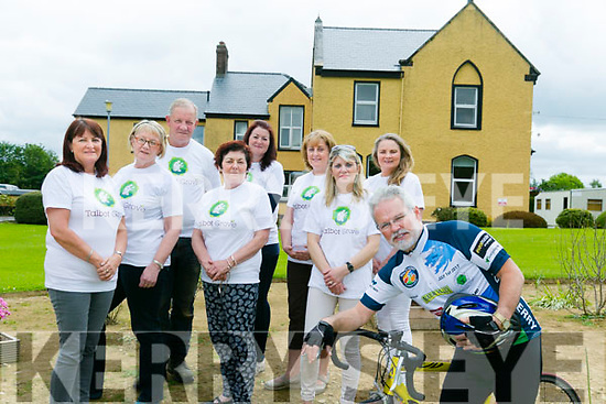Con Cremin and staff Eileen Murphy, Evelyn Curtin, Peggy Keane, Maeve O'Connor, Mike Hartnett, Rona O' Regan, Kathleen Walsh, Marie McEllistrim from Talbot Grove. are looking for people to cycle for them in the Ring of Kerry Charity Cycle, Register Now to Cycle on Saturday 1st July