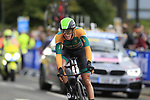 Stefan De Bod (RSA) in action during the Men Elite Individual Time Trial of the UCI World Championships 2019 running 54km from Northallerton to Harrogate, England. 25th September 2019.<br /> Picture: Eoin Clarke | Cyclefile<br /> <br /> All photos usage must carry mandatory copyright credit (© Cyclefile | Eoin Clarke)