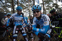Kevin Pauwels (BEL/Marlux-Napoleon Games) before the start<br /> <br /> 2016 Belgian National CX Championships