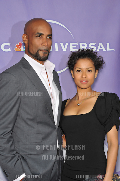 "Boris Kodjoe & Gugu Mbatha-Raw - stars of ""Undercovers"" - at NBC Universal TV Summer Press Tour Party in Beverly Hills. .July 30, 2010  Los Angeles, CA.Picture: Paul Smith / Featureflash"