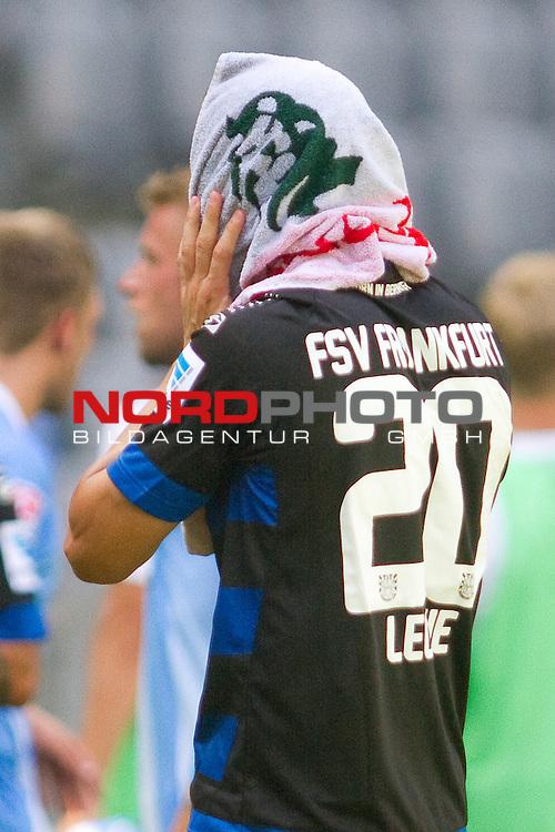 28.07.2013, Allianz Arena, Muenchen, GER, 2.FBL, TSV 1860 Muenchen vs. FSV Frankfurt 1899, im Bild  enteuscht Mathew Leckie (FSV #20) / Foto © nph / Straubmeier