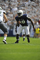 07 September 2013:  Penn State DE Deion Barnes (18). The Penn State Nittany Lions defeated the Eastern Michigan Eagles 45-7 at Beaver Stadium in State College, PA.