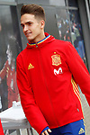 Spain's Denis Suarez after training session. March 21,2017.(ALTERPHOTOS/Acero)