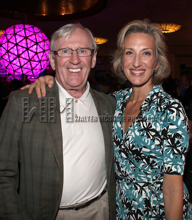 Len Cariou & Paula Leggett Chase.attending the Broadway League and Coalition of Broadway Unions and Guilds Presentation of The 3rd Annual Broadway Salutes in New York City.