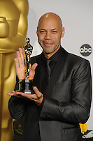 John Ridley at the 86th Annual Academy Awards at the Dolby Theatre, Hollywood.<br /> March 2, 2014  Los Angeles, CA<br /> Picture: Paul Smith / Featureflash