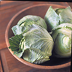 cabbages in bowl