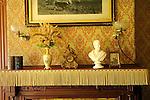 Billings Farmhouse.Fireplace mantel.