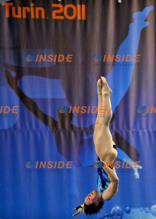 Nora Subschinski (GER)<br /> Team Event<br /> Campionati Europei di Tuffi Torino 2011<br /> Torino, 08/03/2011<br /> &copy; Giorgio Perottino / Insidefoto