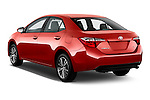 Car pictures of rear three quarter view of 2016 Toyota Corolla LE Plus 4 Door Sedan Angular Rear