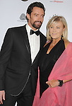 LOS ANGELES, CA - JANUARY 12: Hugh Jackman and Deborra-Lee Furness attend the 2013 G'Day USA Black Tie Gala at JW Marriott Los Angeles at L.A. LIVE on January 12, 2013 in Los Angeles, California.