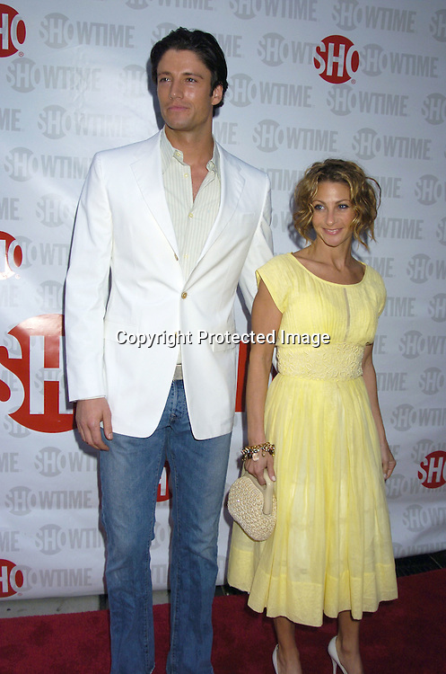 "James Scott and girlfriend Misha Anderson ..at the New York Premiere of Showtime's ""Reefer Madness""..on April 10,  2005 at The DGA Theatre. Broadway Cares/Equity Fights Aids was benefitting from the Premiere  ..Photo by Robin Platzer, Twin Images"