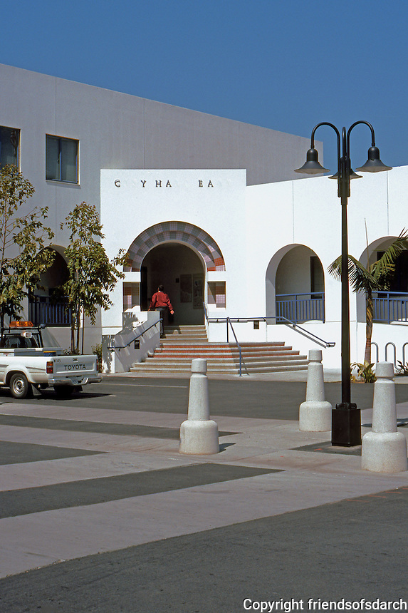 Charles Moore: Oceanside City Hall East, across Ditmar. (Photo '91)