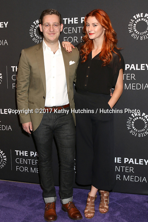 """LOS ANGELES - MAY 18:  Trevor Einhorn, wife at the 2017 PaleyLive LA - """"Dirty Dancing: The New ABC Musical Event"""" Premiere Screening And Conversation at the Paley Center for Media on May 18, 2017 in Beverly Hills, CA"""