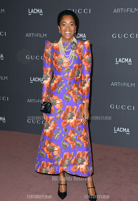 Tamu McPherson at the 2017 LACMA Art+Film Gala at the Los Angeles County Museum of Art, Los Angeles, USA 04 Nov. 2017<br /> Picture: Paul Smith/Featureflash/SilverHub 0208 004 5359 sales@silverhubmedia.com