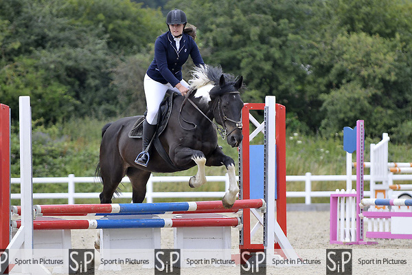Class 6. 75cm. Unaffiliated showjumping. Brook Farm Training Centre. Essex. 15/07/2017. MANDATORY Credit Garry Bowden/Sportinpictures - NO UNAUTHORISED USE - 07837 394578