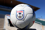 09 October 2016: Official Umbro NASL match ball. The Carolina RailHawks hosted the Fort Lauderdale Strikers at WakeMed Soccer Park in Cary, North Carolina in a 2016 North American Soccer League Fall Season match. Carolina won the game 3-0.