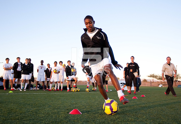 PHOENIX, AZ--US Soccer Development Academy, Reach 11 Sports Complex, Phoenix, AZ. PHOTO BY DON FERIA