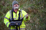 Archaeologist Kevin Barton of www.lgs.ie who is conducting the survey at Millmount