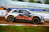 14th April 2018, Circuit de Barcelona-Catalunya, Barcelona, Spain; FIA World Rallycross Championship; Mattias Ekstrom of the EKS Audi Sport Team in action during the morning World Rallycross free practice