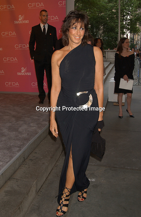 Donna Karan                                ..at the CFDA Fashion Awards on June 2,2003 at the ..New York Public Library. Photo by Robin Platzer, Twin Images