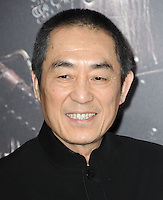 www.acepixs.com<br /> <br /> February 15 2017, LA<br /> <br /> Director Zhang Yimou arriving at the premiere of 'The Great Wall' at the TCL Chinese Theatre on February 15, 2017 in Hollywood, California. <br /> <br /> By Line: Peter West/ACE Pictures<br /> <br /> <br /> ACE Pictures Inc<br /> Tel: 6467670430<br /> Email: info@acepixs.com<br /> www.acepixs.com