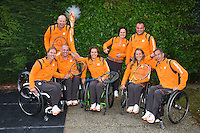 120818-Paralympic tennis players leave for London