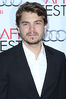 "HOLLYWOOD, CA - NOVEMBER 12: Emile Hirsch at the AFI FEST 2013 - ""Lone Survivor"" Premiere held at TCL Chinese Theatre on November 12, 2013 in Hollywood, California. (Photo by David Acosta/Celebrity Monitor)"