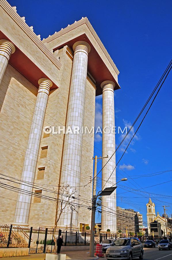 Templo de Salomao, Igreja Universal do Reino de Deus. São Paulo. 2014. Foto de Marcia Minillo.