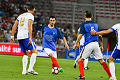 June 17th 2017; Allianz Riviera, Nice, France; Legends football international, France versus Italy;  Eric Carriere (France)