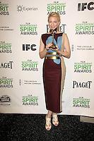 Cate Blanchett<br /> at the 2014 Film Independent Spirit Awards Press Room, Santa Monica Beach, Santa Monica, CA 03-01-14<br /> David Edwards/Dailyceleb.com 818-249-4998