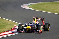 ATENCAO EDITOR IMAGEM EMBARGADA PARA VEICULOS INTERNACIONAL - SUZUKA, JAPAO, 07 OUTUBRO 2012 - F1 GP DO JAPAO - O piloto alemao Sebastian Vettel, da equipe Red Bull,  neste domingo, 07, no Grande Premio do Japão de Fórmula 1, em Suzuka. (FOTO: PIXATHLON / BRAZIL PHOTO PRESS).