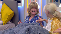 Rachel Johnson and Ashley James  <br /> Celebrity Big Brother 2018 - Day 8<br /> *Editorial Use Only*<br /> CAP/KFS<br /> Image supplied by Capital Pictures