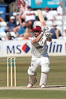 Tom Abell in batting action for Somerset during Essex CCC vs Somerset CCC, Specsavers County Championship Division 1 Cricket at The Cloudfm County Ground on 27th June 2018