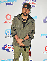 Sean Paul at the Capital FM Summertime Ball 2018, Wembley Stadium, Wembley Park, London, England, UK, on Saturday 09 June 2018.<br /> CAP/CAN<br /> &copy;CAN/Capital Pictures
