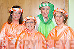 CURTAIN: Aileen Lynch, Anne Kelly, Ger O'Connor and Val Jones having fun. in the Snow White and the Seven Cromane Men Pantomime in the CYMS hall Killorglin, on Monday.   Copyright Kerry's Eye 2008