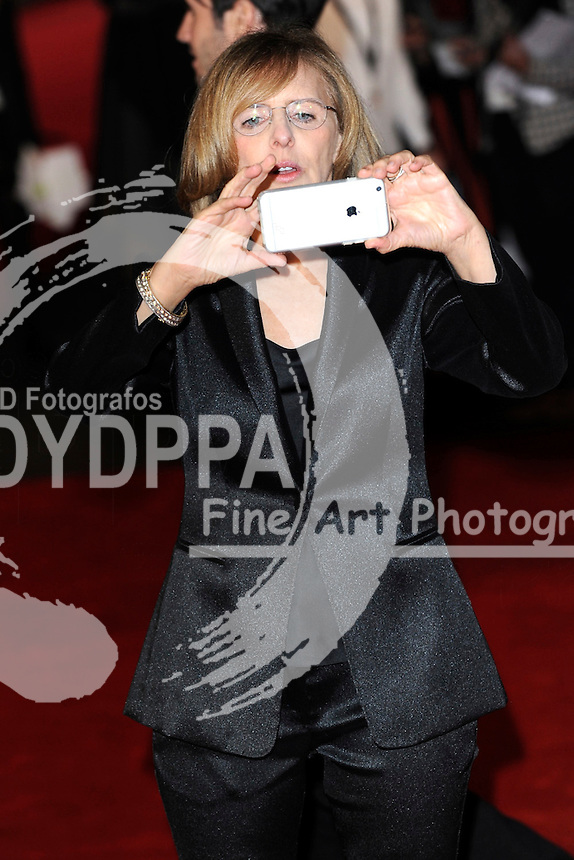 Director Nancy Meyers attends the 'The Intern' European Premiere at Vue Leicester Square in London on September 27, 2015