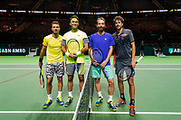 ABNAMRO World Tennis Tournament, 14 Februari, 2018, Rotterdam, The Netherlands, Ahoy, Tennis, Jean-Julien Rojer (NED) / Horia Tecau (ROU), Matwe Middelkoop (NED) / Robin Haase (NED)<br /> <br /> Photo: www.tennisimages.com