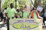 Daughter Kelsey with India and one of the walkers joins As The World Turns' Colleen Zenk Pinter who is the national spokesperson for heightened public awareness of oral cancer attends and is the speaker at the 5th Annual Oral Cancer Walk on April 23, 2010 at Jackie Robinson Park, Harlem, New York. (Photo by Sue Coflin/Max Photos)