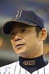 Toshihisa Nishi (JPN),<br /> NOVEMBER 15, 2014 - Baseball : <br /> 2014 All Star Series Game 3 between Japan 4-0 MLB All Stars <br /> at Tokyo Dome in Tokyo, Japan. <br /> (Photo by Shingo Ito/AFLO SPORT)[1195]