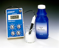 pH METER - Milk of Magnesia, Mg(OH)2<br />