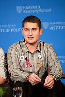Alex Wind # Never Again Parkland Students from Marjory Stoneman Douglas High School speaking on changing gun policies,student activism and politics at the Institute of Politics at Harvard, Cambridge MA 3.20.18